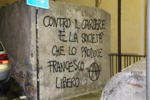 scritte anarchiche